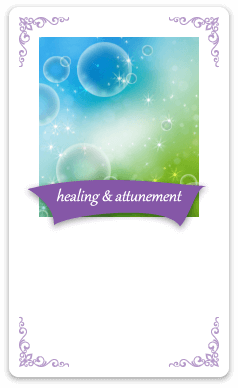 healing & attunement